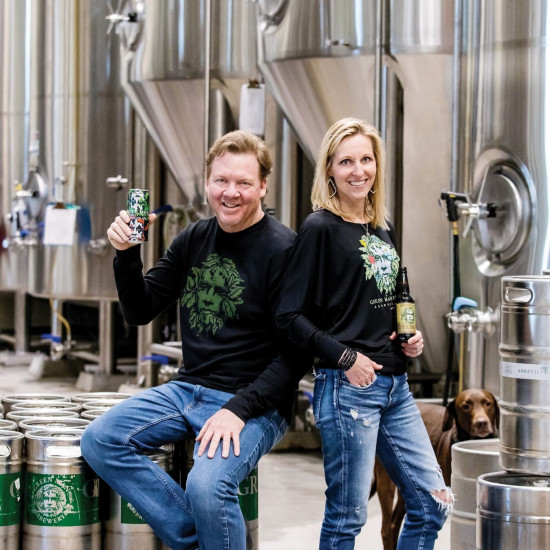 Dennis Thies of Green Man Brewery
